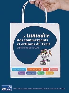 Couverture Annuaire des commerçants UCAT