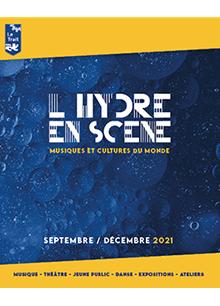 Couverture Programme Salle Hydre en Scène / Sept. à Déc. 2021
